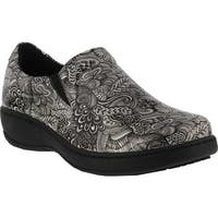 Spring Step Women's Belo Clog Silver Multi Synthetic