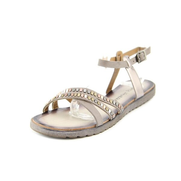 Dirty Laundry Buttermilk Women  Open Toe Synthetic Gray Sandals