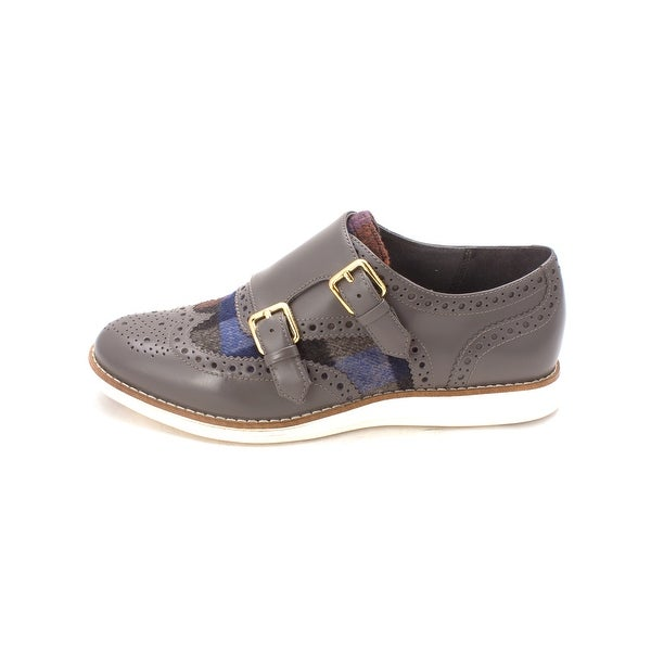 Cole Haan Womens Evelynsam Low Top Buckle Fashion Sneakers - 6
