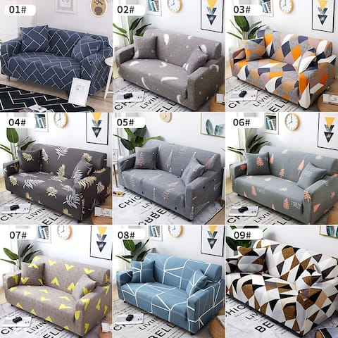 Sofa Cover Couch Slipcover Spandex Stretch Elastic Recliner Settee Cover Loveseat Slipcovers