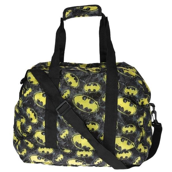 Dc Comics Batman Travel Packable Duffle Bag One Size