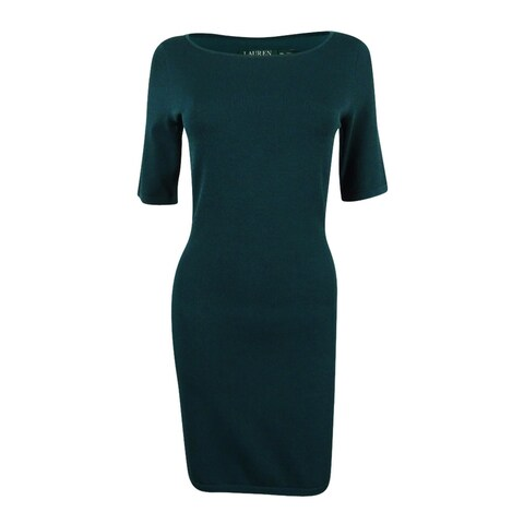 Ralph Lauren Women's Bodycon Sheath Dress - Woodland Green