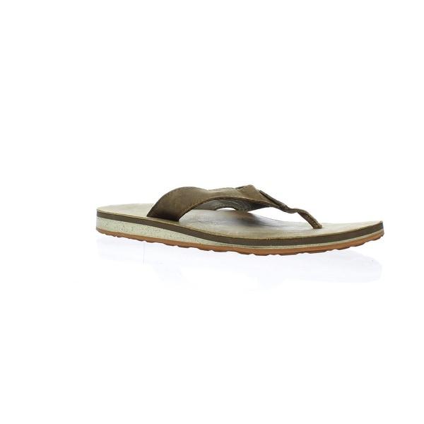 e5e87a49b492 Shop Teva Mens Classic Flip Dark Earth Flip Flops Size 8 - Free ...