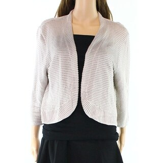 Alfani NEW Stone Beige Womens Size Large L Textured Cardigan Sweater|https://ak1.ostkcdn.com/images/products/is/images/direct/68136e79eead1a99773044dbadedf7eccf27fe21/Alfani-NEW-Stone-Beige-Womens-Size-Large-L-Textured-Cardigan-Sweater.jpg?_ostk_perf_=percv&impolicy=medium