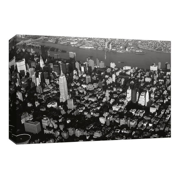 """PTM Images 9-148038 PTM Canvas Collection 8"""" x 10"""" - """"New York City"""" Giclee New York Art Print on Canvas"""