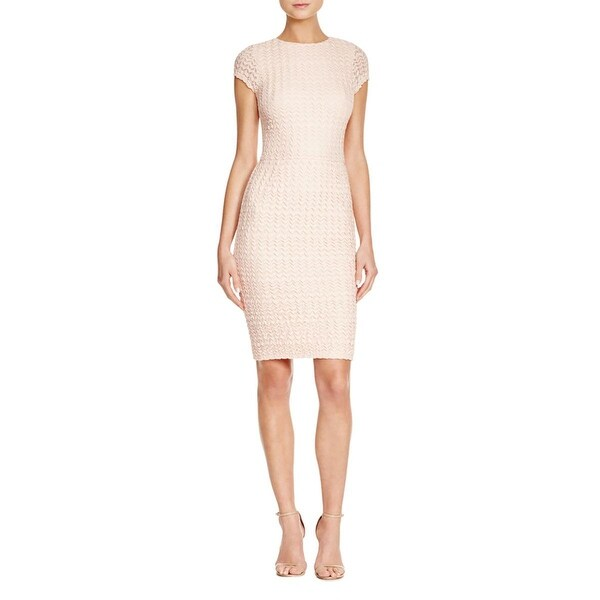 Aqua Womens Casual Dress Knit Chevron