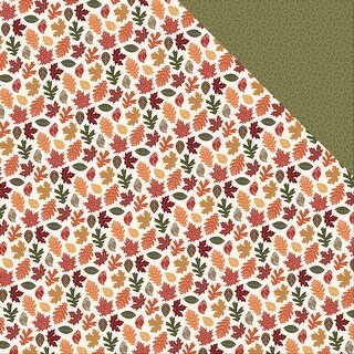 """Autumn Orchard Double-Sided Cardstock 12""""X12""""-Bountiful"""