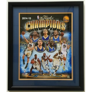 Stephen Curry Golden State Warriors Framed 16x20 2014 15 NBA Champions Photo