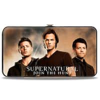 Dean, Sam & Castiel Group + Nothing In Our Lives Is Simple Supernatural Hinge Wallet - One Size Fits most