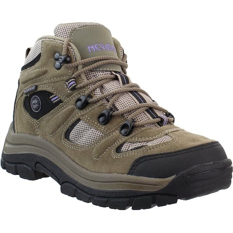 "Nevados Klondike Hiking Womens Boots Ankle Low Heel 1-2"" - Brown"