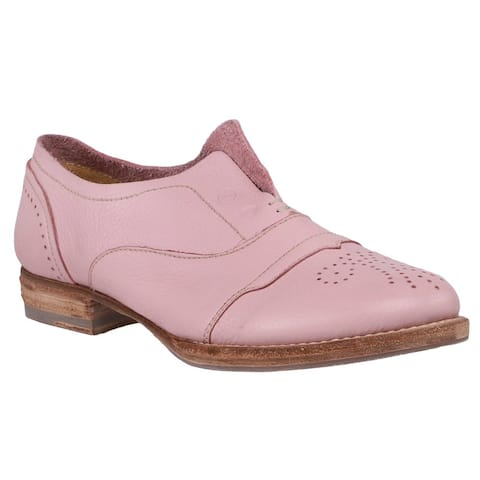 Blackstone Hl55 Loafers Womens Flats Casual - Pink