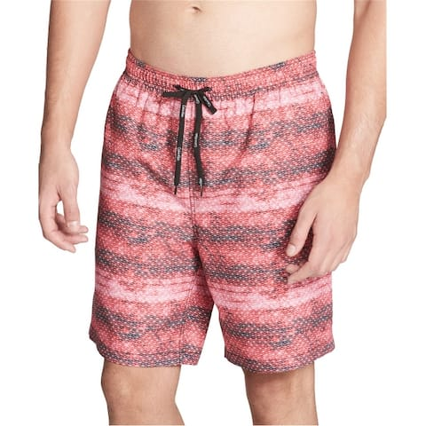 Calvin Klein Mens Printed Swim Bottom Trunks