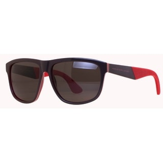 MARC JACOBS Square MMJ 417/S Men's 05WR Brown/Red Brown Sunglasses - 57mm-15mm-140mm