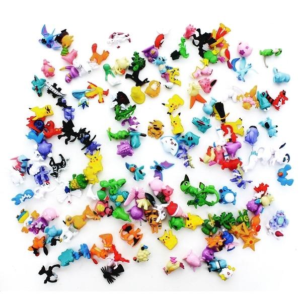 "Pokemon 1"" PVC Mini Figure: Lot of 144 Pieces - multi"