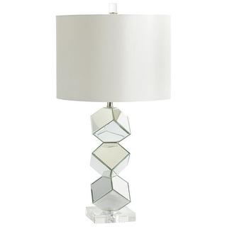 Cyan Design 5903 1 Light Illusion Table Lamp - mirrored glass