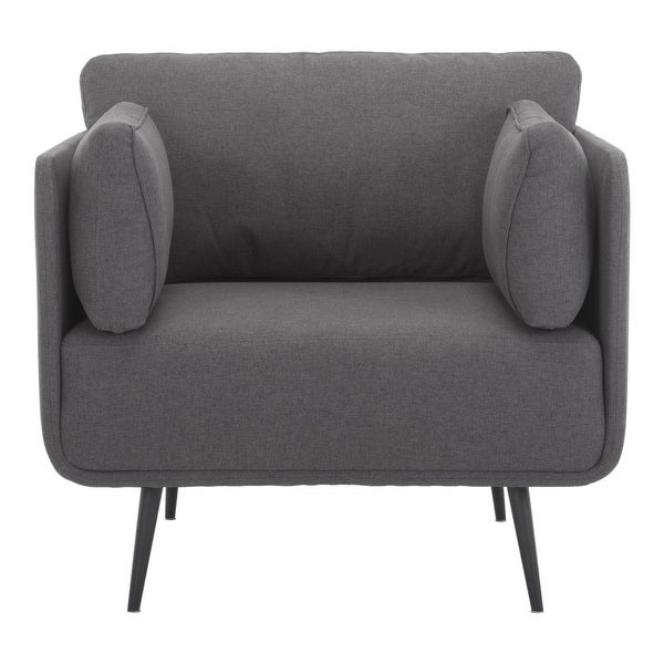 Aurelle Home Rico Modern Curved Accent Chair. Opens flyout.