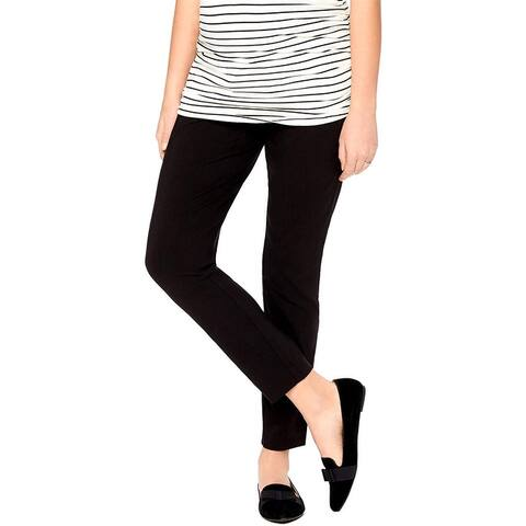 Motherhood Materinity Womens Leggings Black Size Small S Full-Length