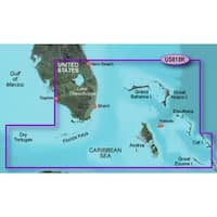 Garmin 010-C0711-00 Bluechart g2 vision VUS010R, Southeast Florida (SD Card)