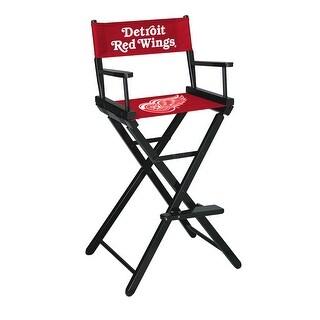 Directors Chair -Bar Height - NHL- Detroit Redwings
