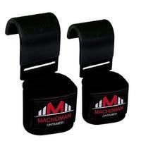 Weight Lifting Gym Training Straps Hook Bar Wrist Support Lift WrapsH-3