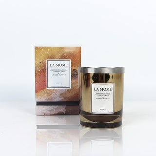 La Mome Luxury Lemon Grass and Ginger Flower Soy Wax Scented Candle