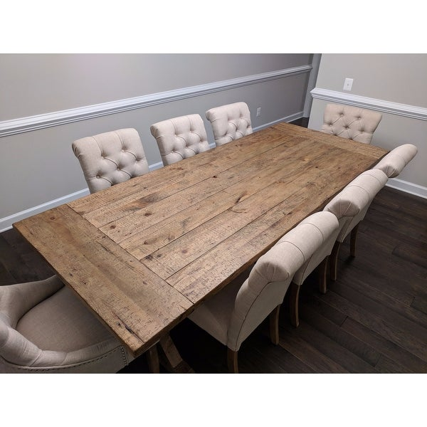Merveilleux Shop Paloma Rustic Reclaimed Wood Rectangular Trestle Farm Table By INSPIRE  Q Artisan   On Sale   Free Shipping Today   Overstock.com   11960213