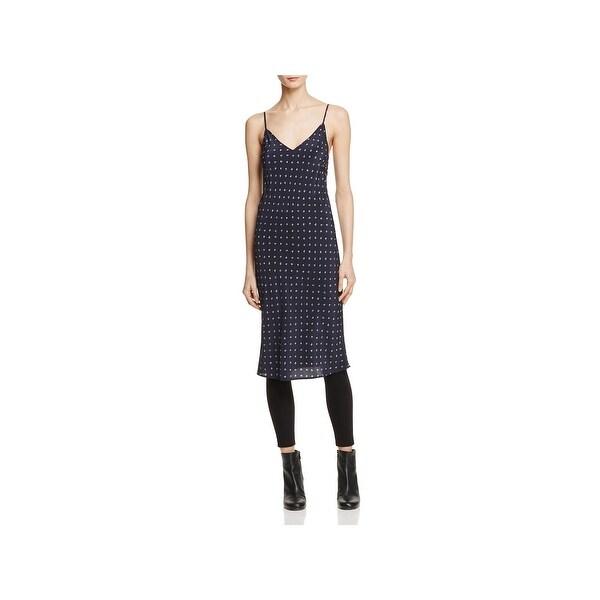 2fee166046 Shop Vince Womens Slip Dress Silk Pattern - M - Free Shipping Today ...