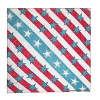 CTM® American Denim Stars and Stripes Bandana - One size
