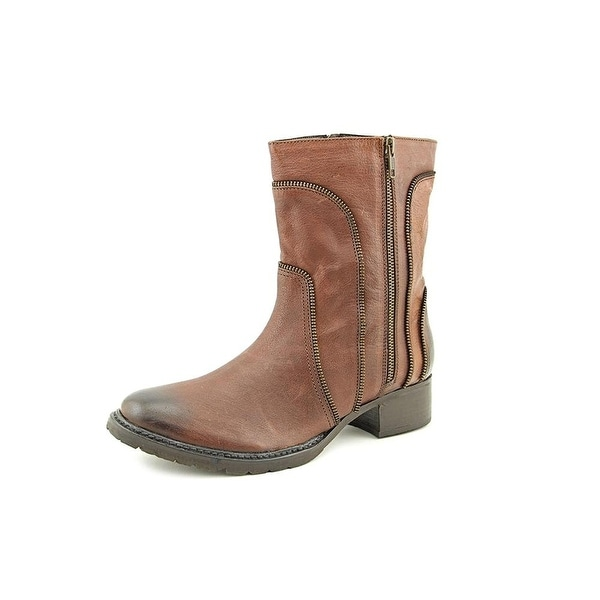 Adam Tucker Womens Lawson4 Leather Closed Toe Mid-Calf Fashion Boots