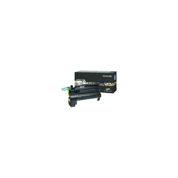 Lexmark X792X4YG Lexmark X792X4YG Toner Cartridge - Yellow - Laser - 20000 Page - 1 Pack