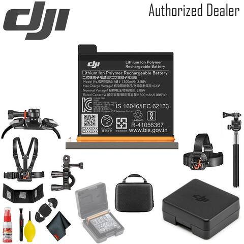 DJI Battery for Osmo Action Camera - Outdoor Action Camera Mount Kit