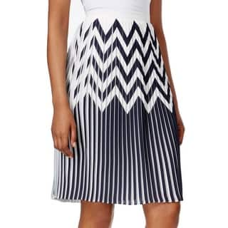 Tahari by ASL NEW Blue White Women's Size 18 Pleated Chevron Skirt|https://ak1.ostkcdn.com/images/products/is/images/direct/6821a479291ddaf2aaff7e1147aaa71a78be79bf/Tahari-by-ASL-NEW-Blue-White-Women%27s-Size-18-Pleated-Chevron-Skirt.jpg?impolicy=medium