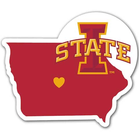 Iowa State Cyclones Decal Home State Pride Style Special Order