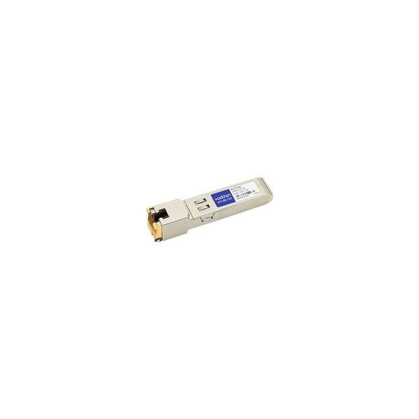 AddOn GLC-TE-AO AddOn Cisco GLC-TE Compatible TAA Compliant 1000Base-TX SFP Transceiver (Copper, 100m, RJ-45) - 100% application