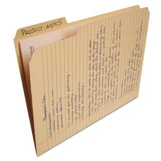 FindIt File Folders Notepad, Letter - Manila