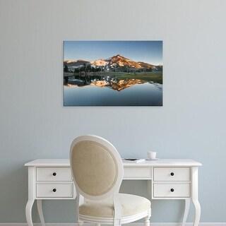 Easy Art Prints Alan Majchrowicz's 'South Sister Reflection II' Premium Canvas Art