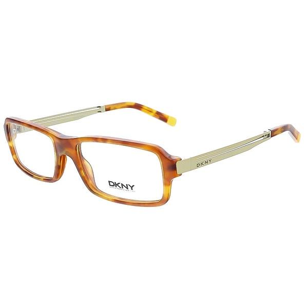 Donna Karan DY 4619 3346 Blonde Havana Plastic Womens Optical Frame - 52-16-135