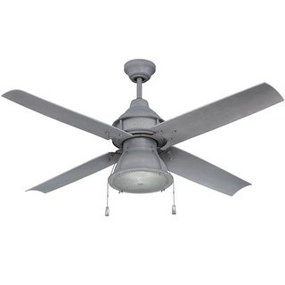 "Craftmade PAR524 Port Arbor 52"" 4 Blade Indoor / Outdoor Ceiling Fan - Blades and Light Kit Included"