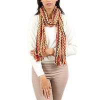 Missoni  Orange/Red Wave Scarf - 16-56