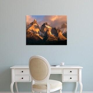 Easy Art Prints Jerry Ginsberg's 'View Cuernos Peaks' Premium Canvas Art