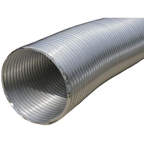 Builder's best 110412 semi-rigid aluminum duct, 8ft (10 dia)