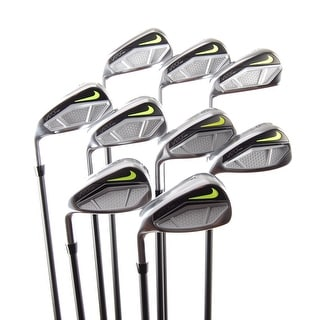 New Nike Vapor Speed Irons 3-PW,GW UST Graphite Stiff Flex LEFT HANDED