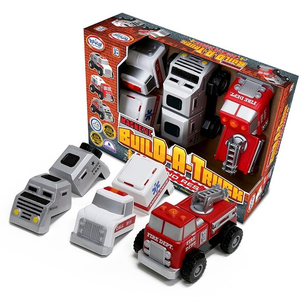 Build A Truck >> Build A Truck Rescue