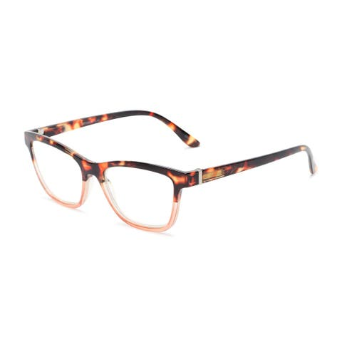 Readers.com The Domino Blue Light Reader Cat Eye Reading Glasses