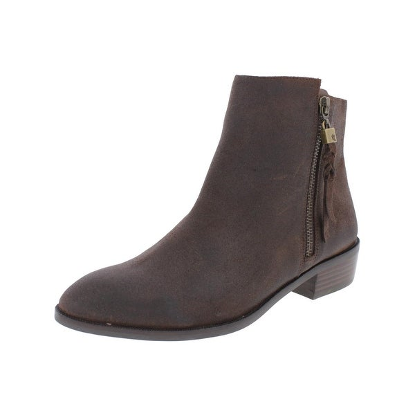 Elliott Lucca Womens Rosaria Booties Ankle Round Toe