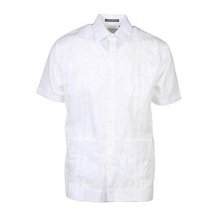 Giancarlo Wide Light Weight Breezy Short Sleeve Dress Shirt