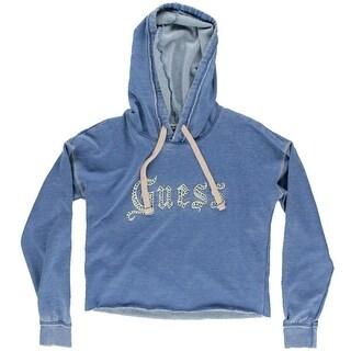 Guess Womens Long Sleeves Graphic Sweatshirt