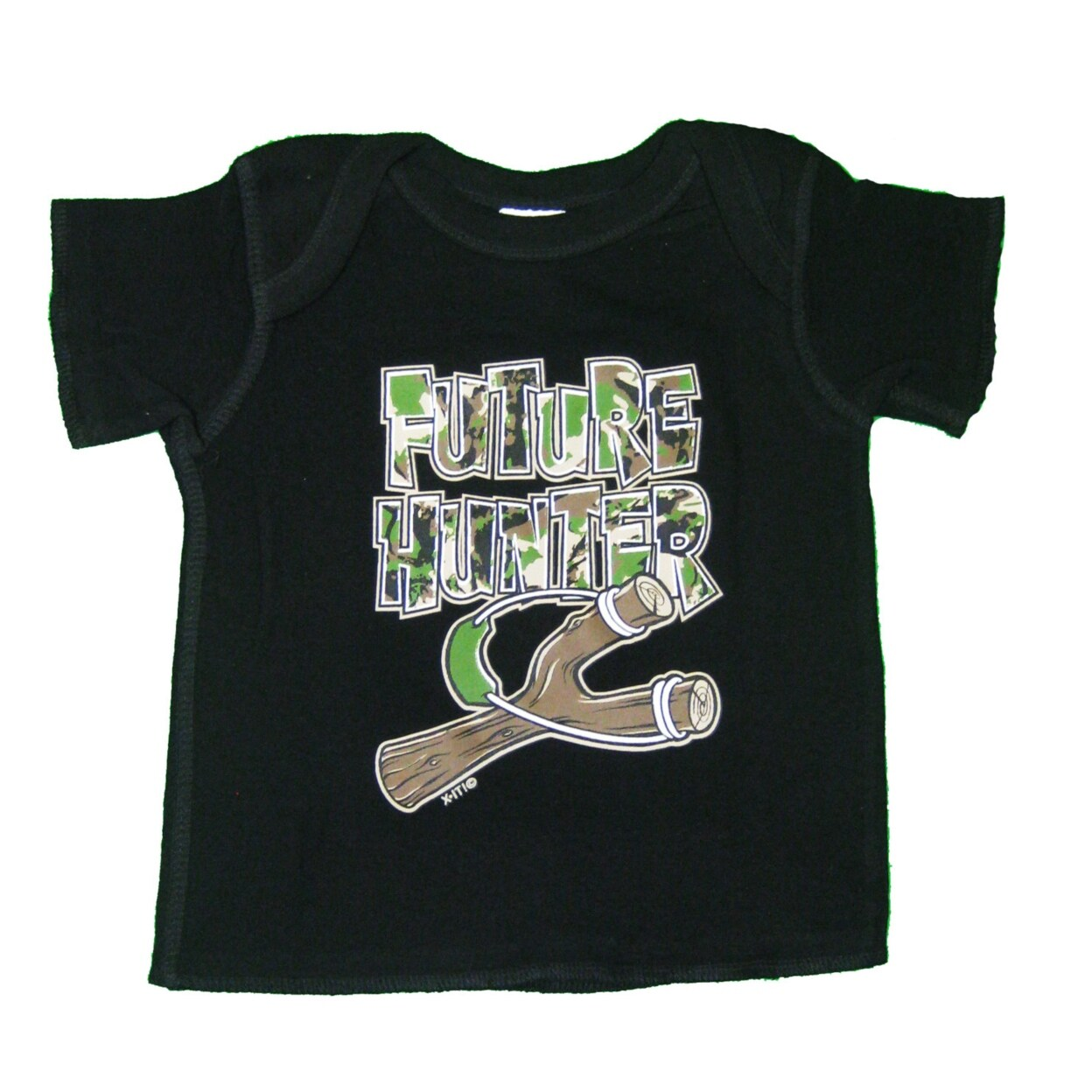 Infant Black Future Hunter Tee, Cute Tees, Boys Shirt, Toddler Shirt, Girls Shirt,born, Funny Tee, Unisex Shirt, Hunter Tee (12-18 months)
