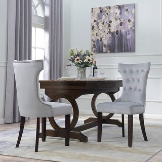Avenue Greene Janna Tufted Dining Chair (Set of 2) - Free Shipping ...