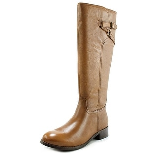 Trotters Lucky Too Women Round Toe Leather Knee High Boot